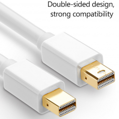 Mini DisplayPort to Mini DP 公對公連接線 1.8M